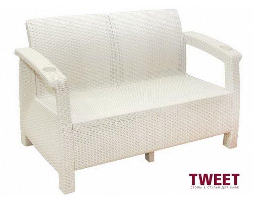 Диван TWEET Sofa Seat white