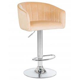 Барный стул LM-5025 песочный велюр