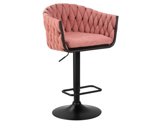 Барный стул LM-9690 розовый