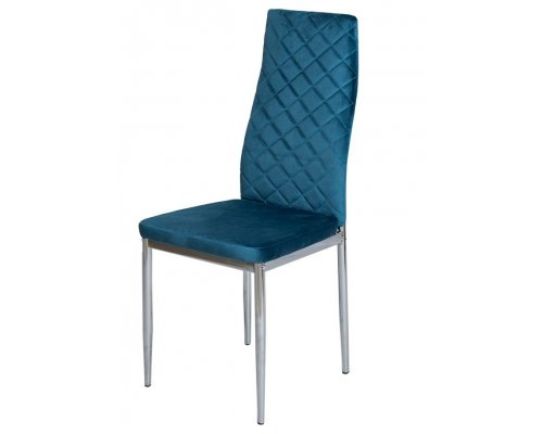 Стул S3 BLUE (G062-45)/CHROME