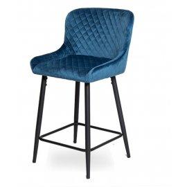 Барный стул WY-27 BLUE (WY11-108)/BLACK