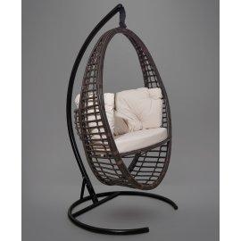 Подвесное кресло DERBENT (темно-коричневое)