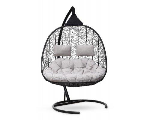 Подвесное кресло SEVILLA TWIN (черное)