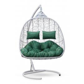 Подвесное кресло SEVILLA TWIN (белое)