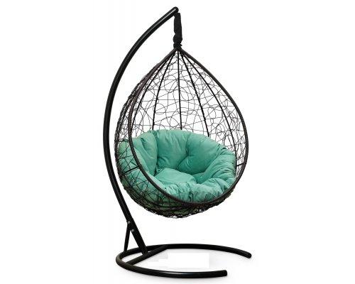Подвесное кресло SEVILLA VERDE VELOUR (коричневое)