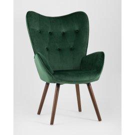 Кресло Гранд велюр зеленый