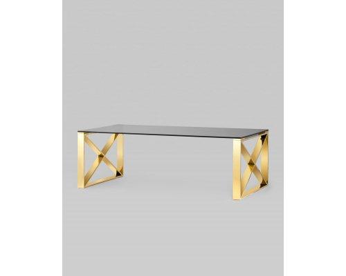 Журнальный стол КРОСС 120 золото