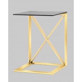 Журнальный стол Кросс золото