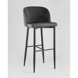 Барный стул Оскар серый