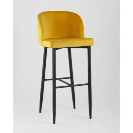 Барный стул Оскар оранжевый