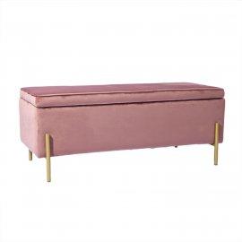 Банкетка Тюдор розовый