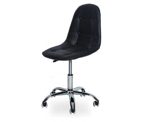 Компьютерное кресло SN-824 black/chrome