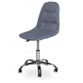 Компьютерное кресло SN-824 grey/chrome