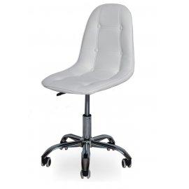 Компьютерное кресло SN-824 white/chrome