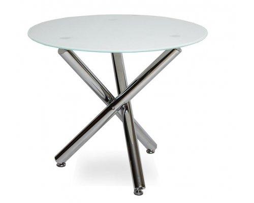 Обеденный стол LH-01 (900) super white