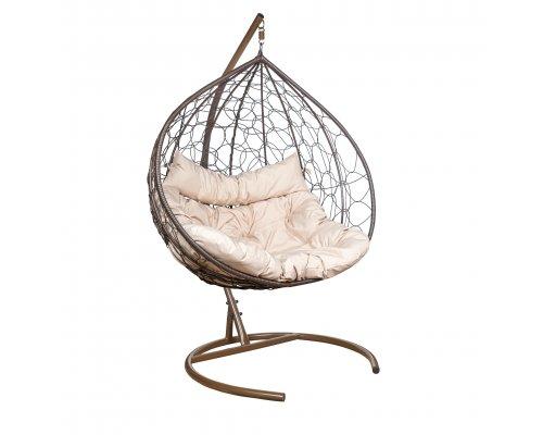 Подвесное кресло Leset Бали коричневое