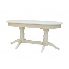 Обеденный стол Leset Каролина 1Р раздвижной (слоновая кость)