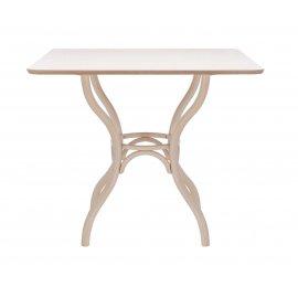 Обеденный стол Leset Top квадратный (беленый дуб)