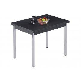 Обеденный стол Leset Марсель 1Р раздвижной (антрацит)