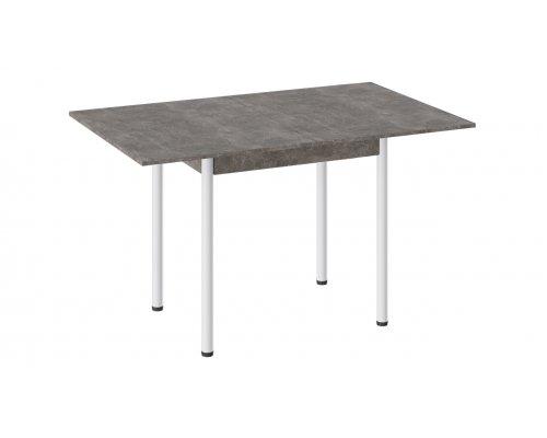 Раскладной обеденный стол Родос Тип-2 с опорой D40 (ателье темный)