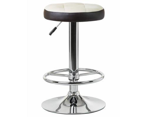 Барный стул LM-5008 кремово-коричневый