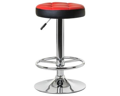 Барный стул LM-5008 красно-черный