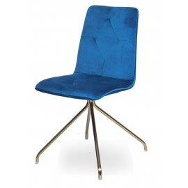 Стул WX-5 Blue (8167-68)/Golden