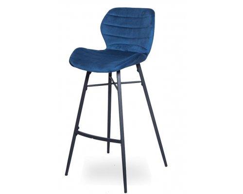 Барный стул WX-7 Blue (8167-9/black)