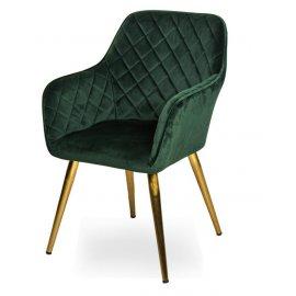 Кресло WY-43 GREEN (WY11-107)/GOLDEN