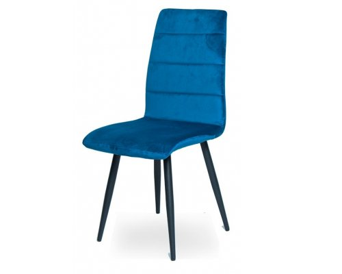 Стул WX-1 BLUE (8167-69)/BLACK
