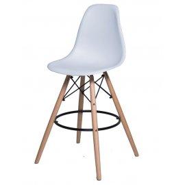 Барный стул SN-3 (Eames 3BT) белый