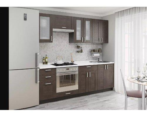 Кухня Лофт-01 (wenge Weralinga)