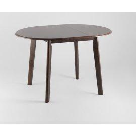Обеденный стол-трансформер Рондо (темный дуб)