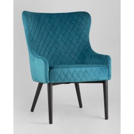 Кресло Ститч (темно-бирюзовый)