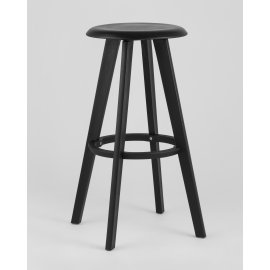 Барный стул Hoker 0862 вращающийся (черный)