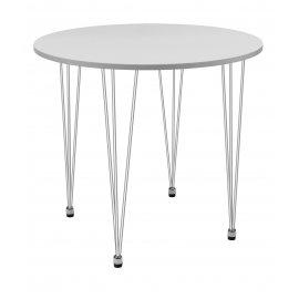 Обеденный стол KARAPIRO D80 белый