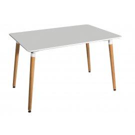 Обеденный стол Oslo 120 прямоугольный (белый)