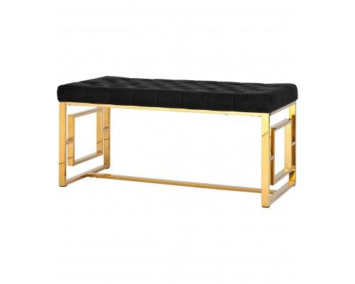 Банкетка-скамейка Бруклин золото