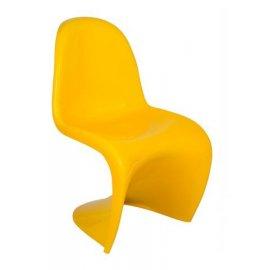 Дизайнерское кресло Festa желтое (Verner Panton)