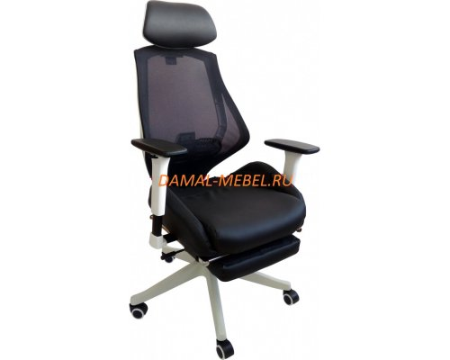 Кресло руководителя RT-2004H черно-белое