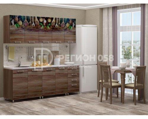 Кухня ЛДСП с фотопечатью 2.0