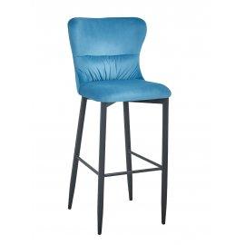 Барный стул Лилиан темно-бирюзовый