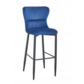 Барный стул Лилиан темно-синий