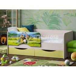 Детская кровать Юниор-12 (Мадагаскар)