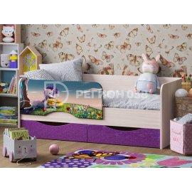 Детская кровать Юниор-12 (Единорог)