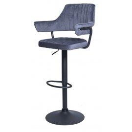 Барный стул WX-1029 Grey (8167-56/black)