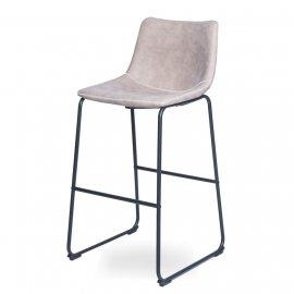 Барный стул WX-9 BEIGE (F811-41)/Black