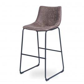 Барный стул WX-9 BROWN (F811-2)/Black