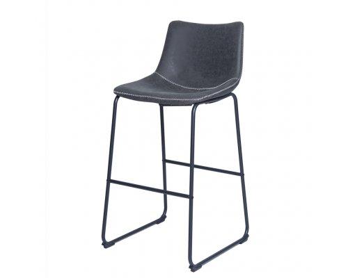 Барный стул WX-9 DARK GREY (F811-8004)/Black
