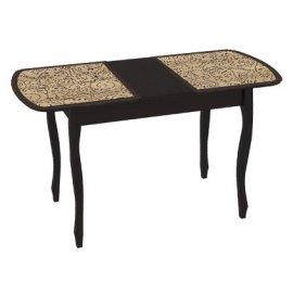 Раздвижной обеденный стол Экстра-2 (венге/арабика)